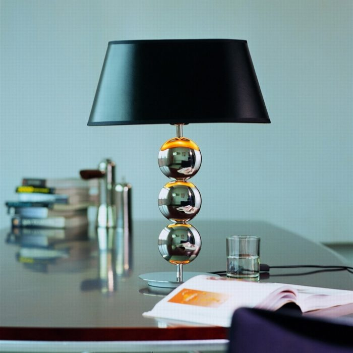 Napoleon 3 Table Lamp with Shade
