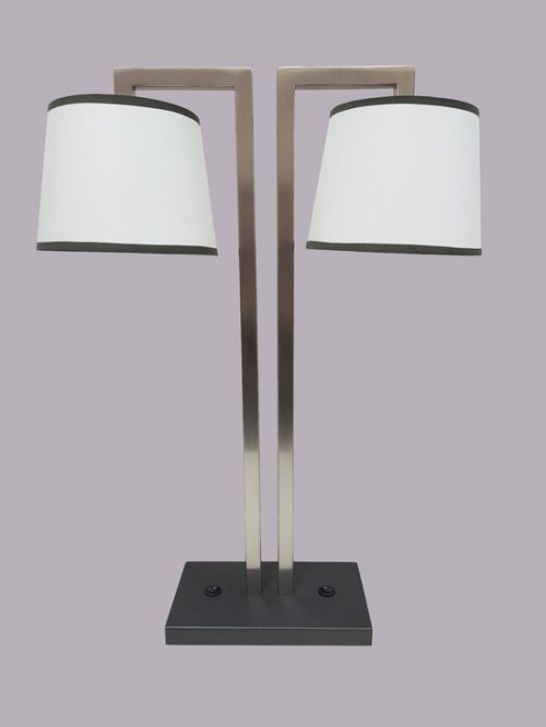 Palermo Twin Lamp with Shades
