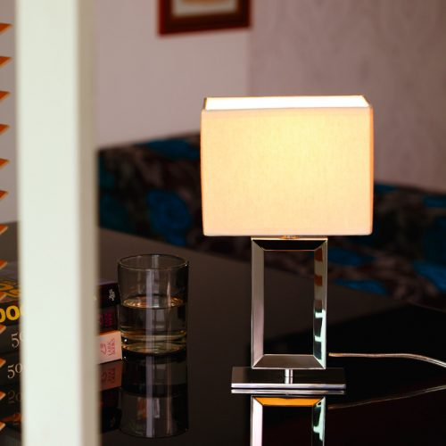 Quadrate Mini Table Lamp with Shade