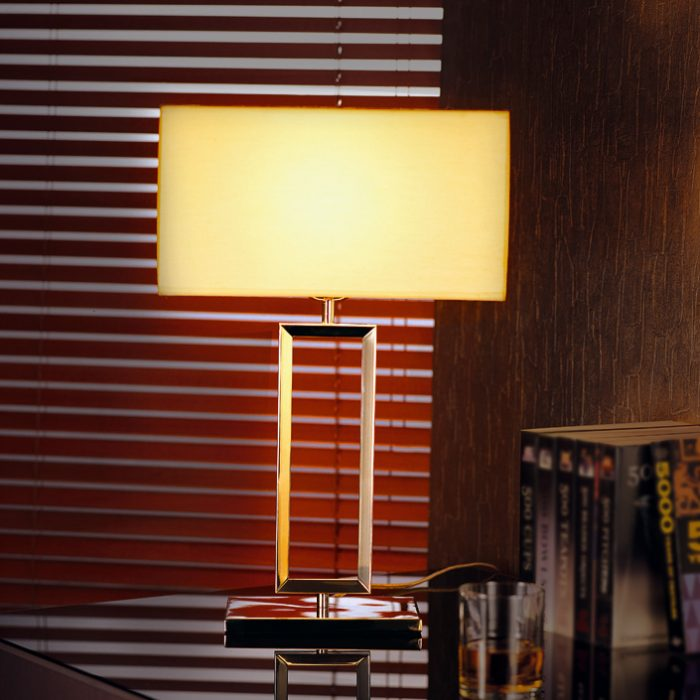 Quadrate Table Lamp with Shade
