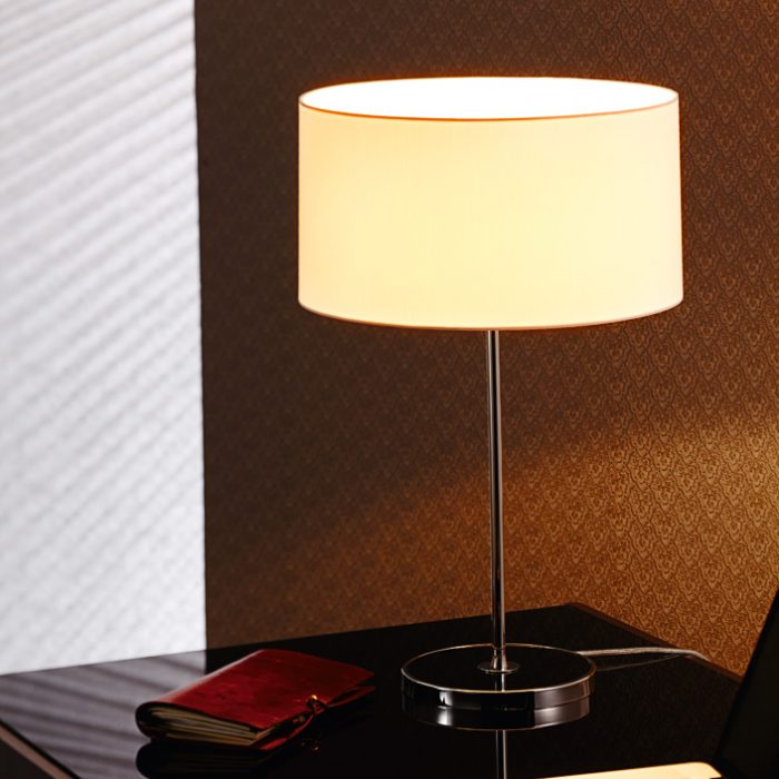 Quiet Table Lamp with Shade
