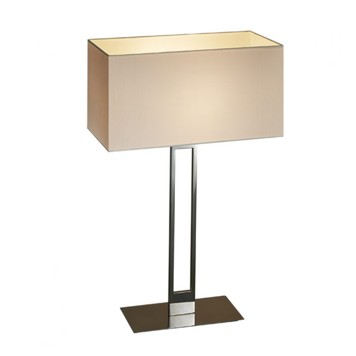Slim High Table Lamp with Shade