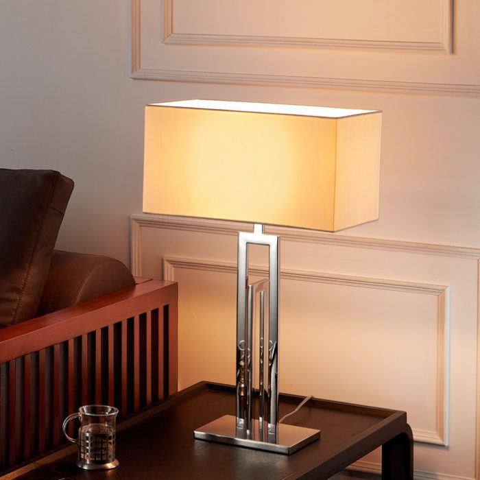 Span Table Lamp with Shade