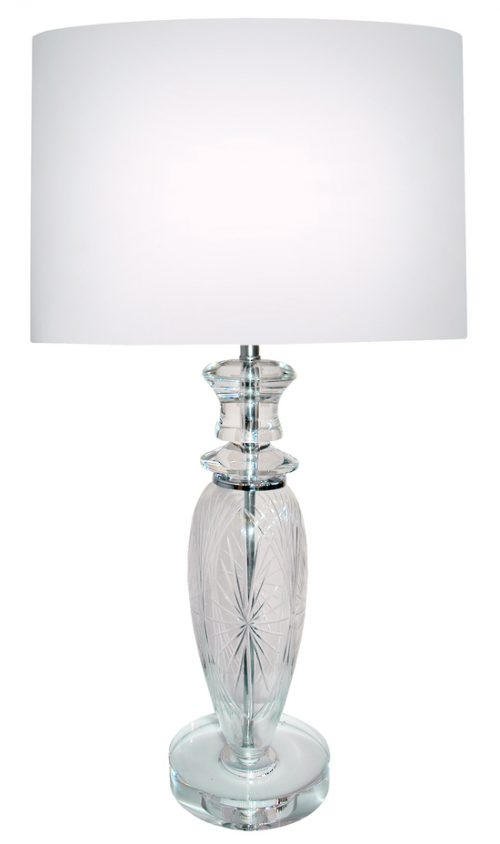 Spectra Table Lamp with White Shade