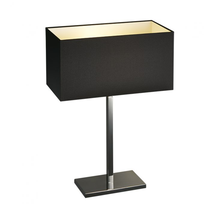 Spruce Oblong Table Lamp with Shade