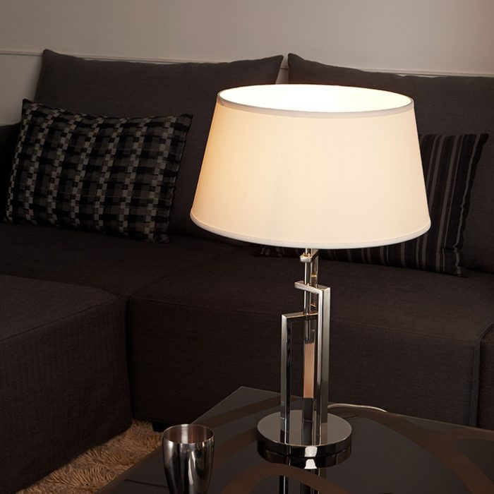 Stonehenge Table Lamp with Shade