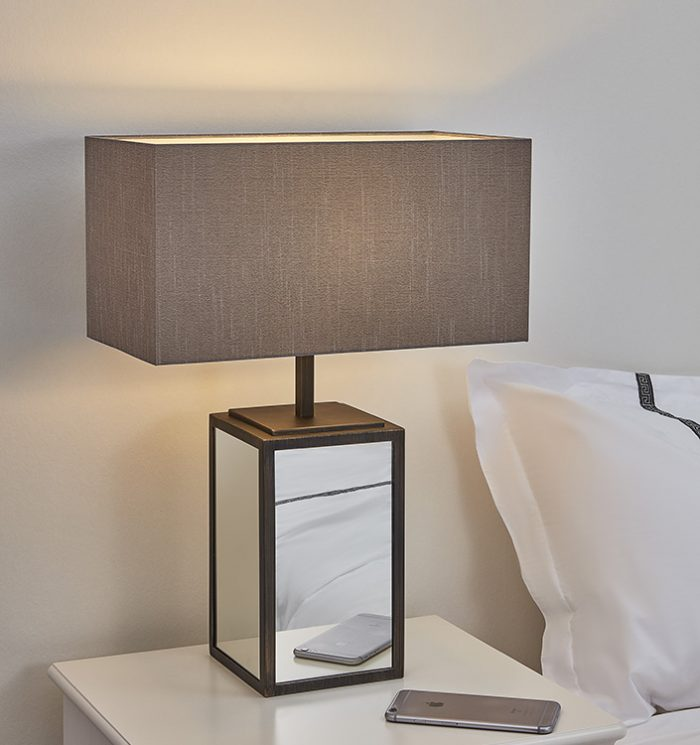 Time Square Big Table Lamp with Shade