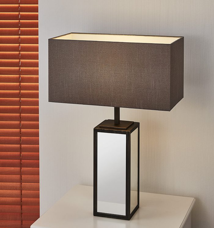 Time Square Table Lamp with Shade