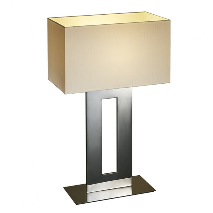 Windows Large Table Lamp with Shade