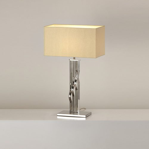 Zig Zag Table Lamp with Shade