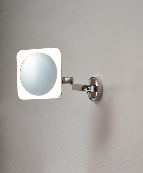 Beauty Long Square Mirror Lighting