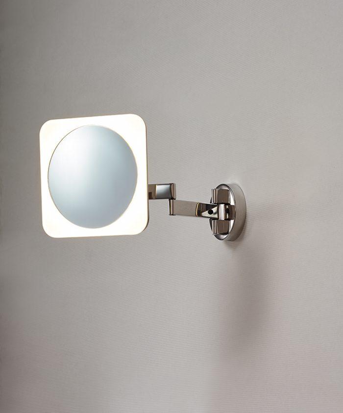 Beauty Long Square Mirror Lighting