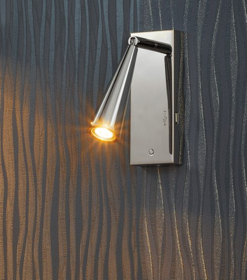 Bell  Large Slope Wall Lamp + USB