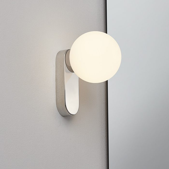 Bubble Ball Wall Lamp with Opal Glass