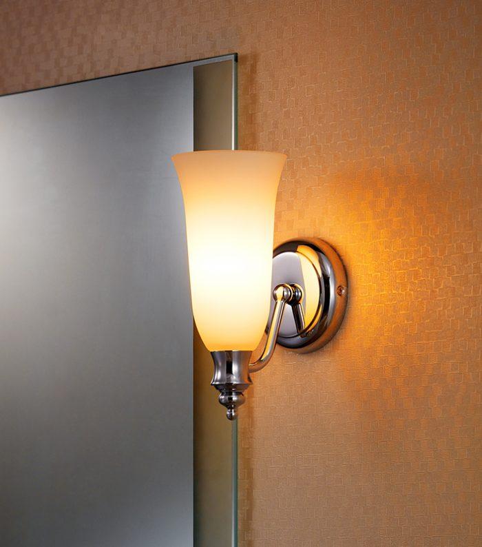 Castle  Long Glass Wall Lamp