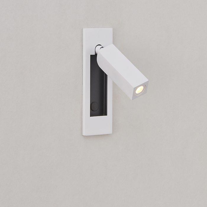 Dida 28 Mini Square Recessed Wall Lamp