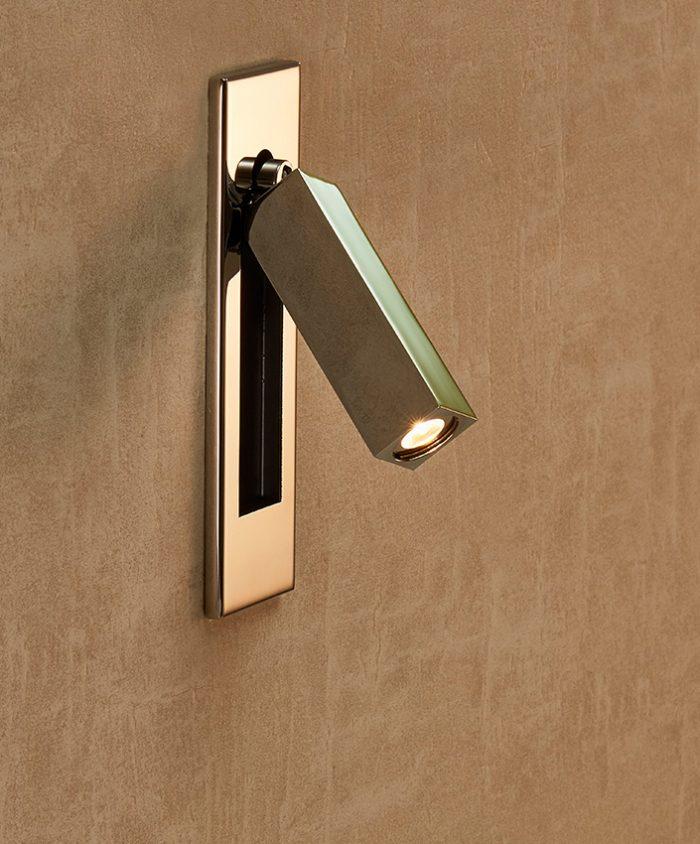Dida Mini Square Recessed Wall Lamp