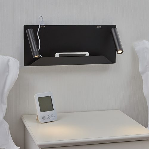 Dida Mobile Support Wall Lamp + USB