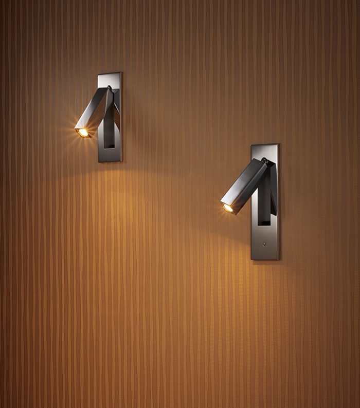 Dida Recessed Wall Lamp + Switch