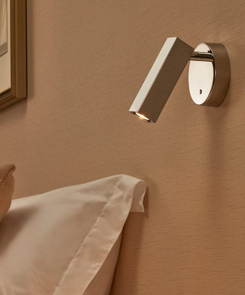 Dida Round Base + Square Wall Lamp