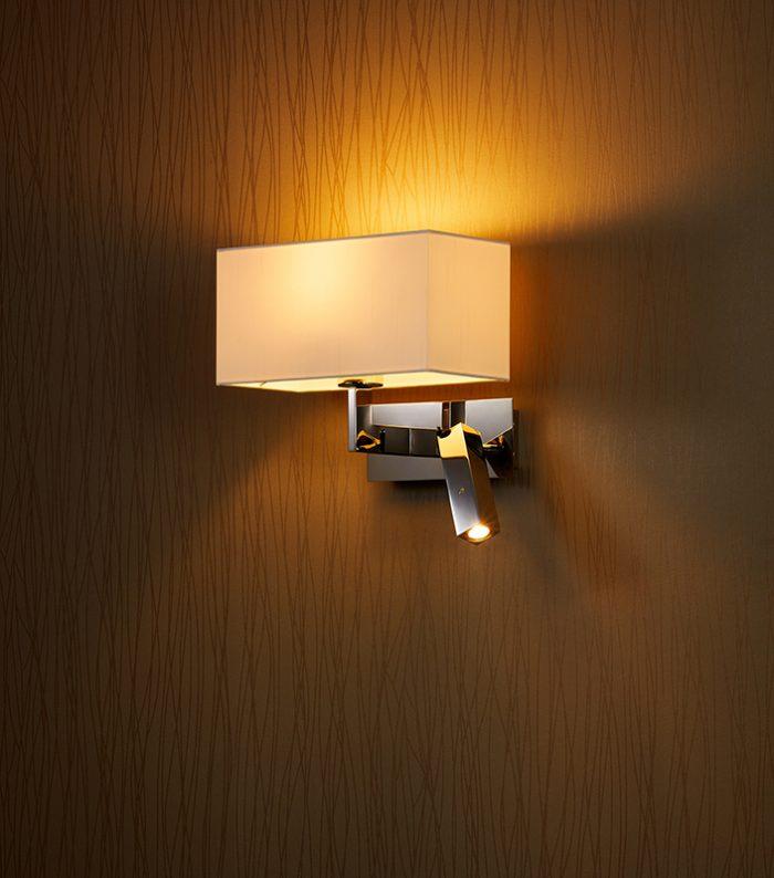 Flat LED Quadrate Wall Lamp