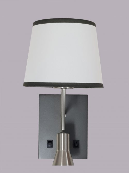 Gemini 2 Wall Light with shade