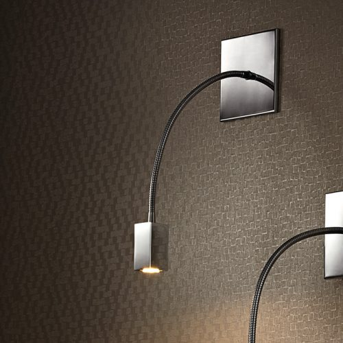 Simple Square Recessed Wall Lamp