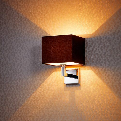 Spruce Wall Lamp with Shade