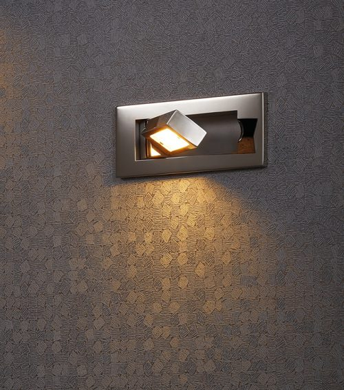 Tank Recessed Wall Lamp