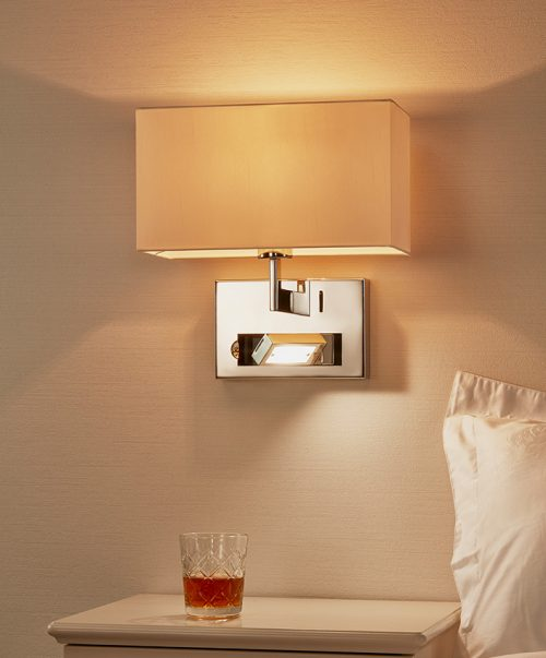 Union Wall Lamp-Left with USB