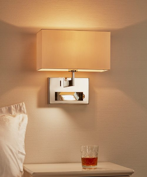 Union Wall Lamp-Right with USB