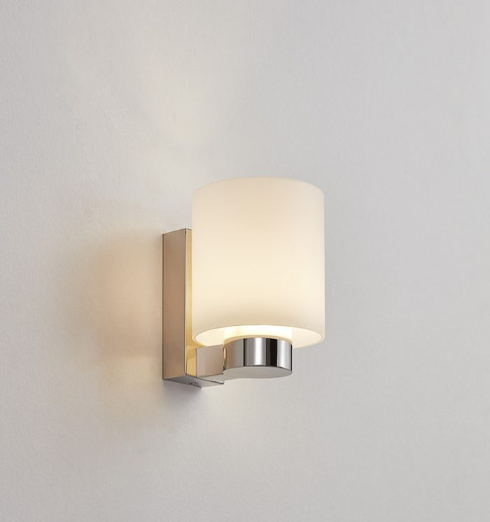 Warrior LED Wall Lamp with Opal Glass