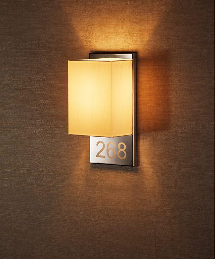 Welcome  Alphabet Narrow Wall Lamp