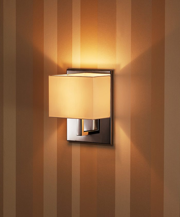 Welcome  Wide Wall Lamp