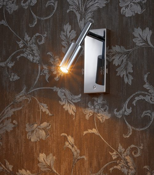 Whistle  Vertical Wall Lamp + USB