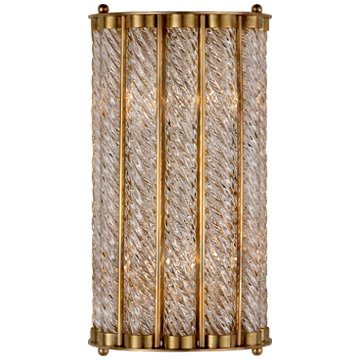 Eaton Sconce in Hand-Rubbed Antique Brass