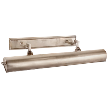 """Dean 24"""" Picture Light in Brushed Nickel"""