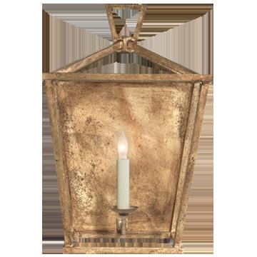 Darlana Wall Lantern in Gilded Iron