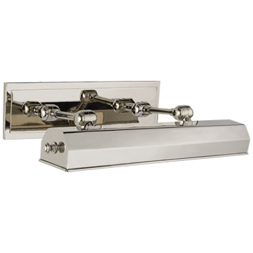 "Dorchester 18"" Picture Light in Polished Nickel"