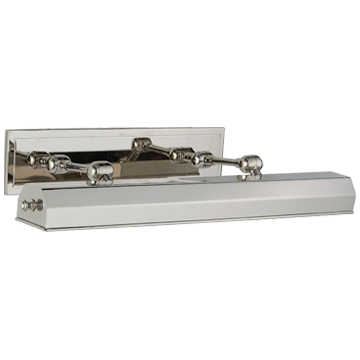 """Dorchester 24"""" Picture Light in Polished Nickel"""