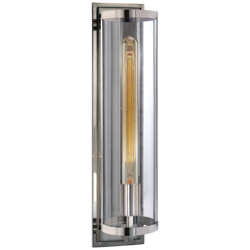 Belden Round Sconce in Polished Nickel