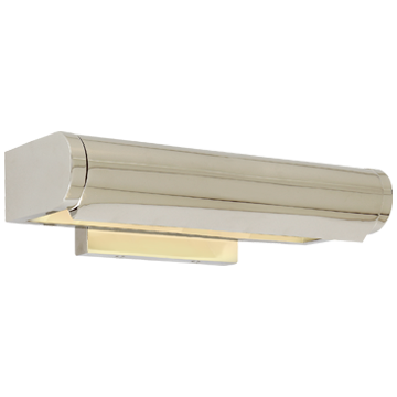 "David 12"" Art Light in Polished Nickel"