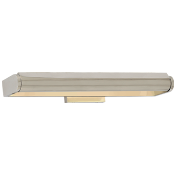 "David 24"" Art Light in Polished Nickel"