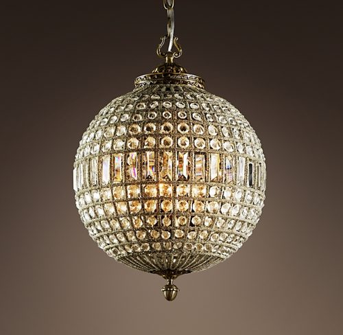 "French 18"" Empire Crystal Chandelier"
