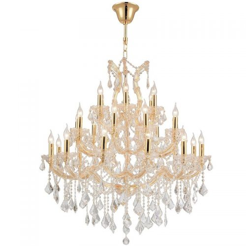 Maria Theresa 28 Light Crystal Chandelier