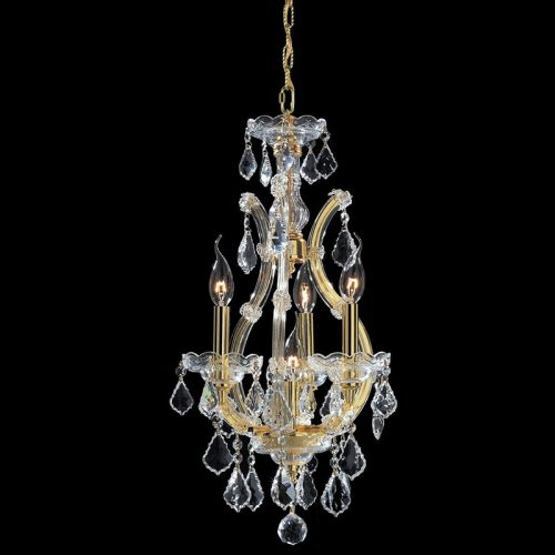 Maria Theresa 4 Light Crystal Chandelier