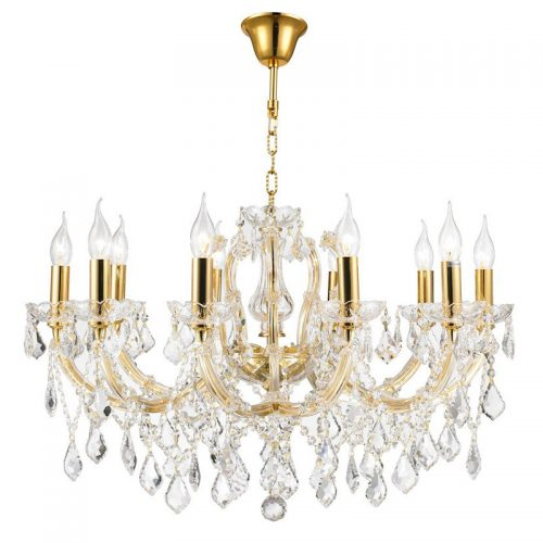 Maria Theresa 10 Light Crystal Chandelier