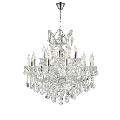 Maria Theresa 19 Light Crystal Chandelier