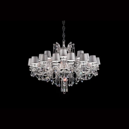 Maria Theresa 24 Light Crystal Chandelier