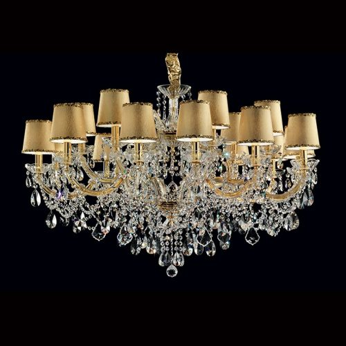 Maria Theresa 18 Light Crystal Chandelier